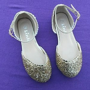Size 9 Glitter Girls Party Dress Shoes